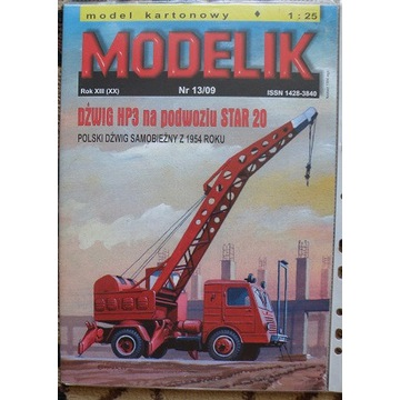 MODELIK nr13/09 Dźwig Hp3 ---Star 20