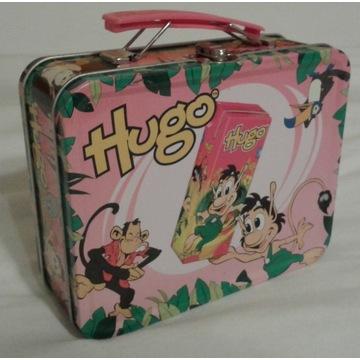 metalowa walizka kuferek walizeczka HUGO
