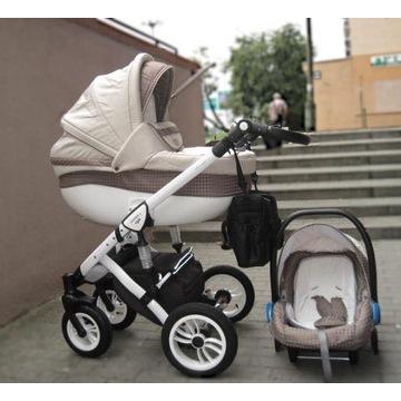 Wózek 3w1 Baby Merc Faster. Stan bdb