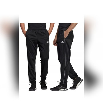 Spodnie męskie Adidas do biegania, rozmiar M