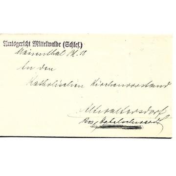Międzylesie, (Mittelwalde), 1930 rok, Marienthal