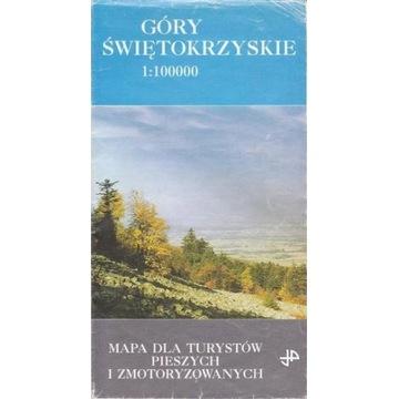 JP Góry Świętokrzyskie 1:100000 mapa turystyczna