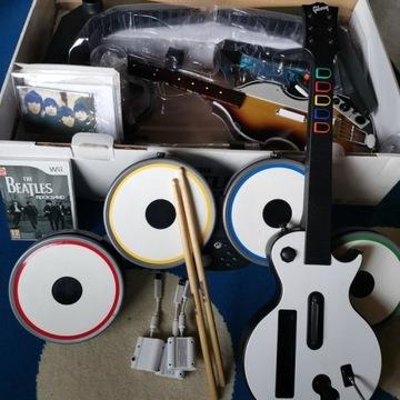 Wii The Beatles Rockband - Zestaw