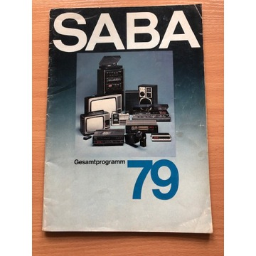 Katalog firmy SABA 1979