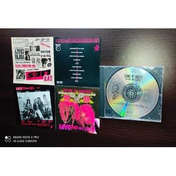 Guns N' Roses CD G N' R Lies Made in the EC MINT