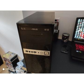 Obudowa komputerowa + zasilacz 500w + Asus napęd