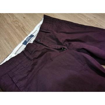 Spodnie s.Oliver Chinosy 32 34 Slim Fit BlackBerry