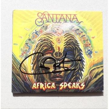 CARLOS SANTANA - Autograf! Africa Speaks