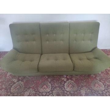 Komplet Atlantis: sofa + 2 fotele - PRL oryginał