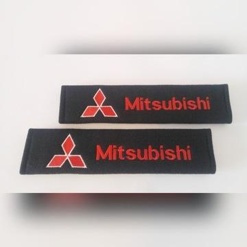 Mitsubishi nakładki na pasy bezpieczeństwa