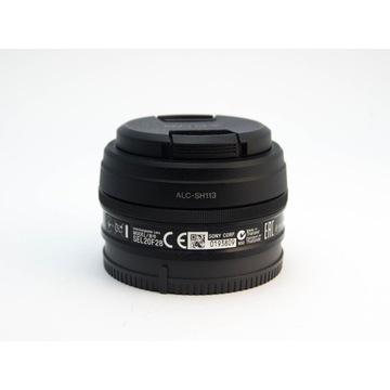 Obiektyw Sony E / SEL20F28