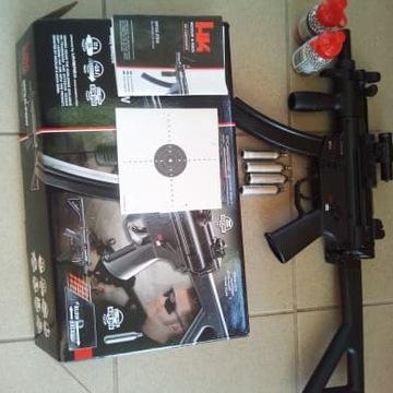 Wiatrówka Heckler&Koch MP5K-PDW 4,5 mm + Celownik