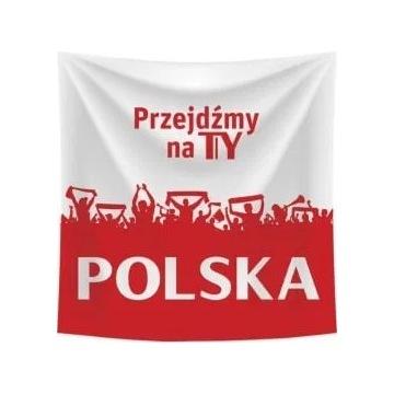 Nowa flaga Tyskie Przejdźmy na Ty Polska Euro 2020
