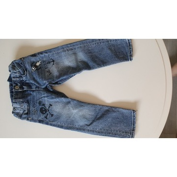 jeansy H&M 98