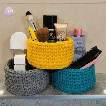 Koszyk ze sznurka łazienkowy do łazienki prezent
