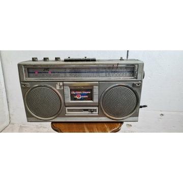 JVC RC-555 KL boombox lata 80 te sprawny