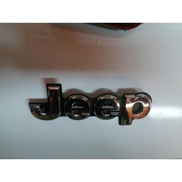 Emblemat logo jeep z wk2 grand klapa tyl