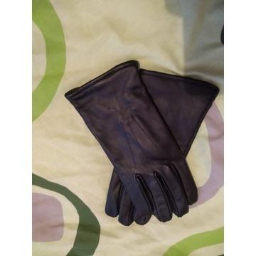 Rękawice zimowe skórzane rozmiar 26