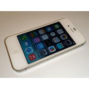 iPhone 4s 8 GB biały zadbany