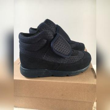 Nowe skórzane buty za kostkę botki Bartek