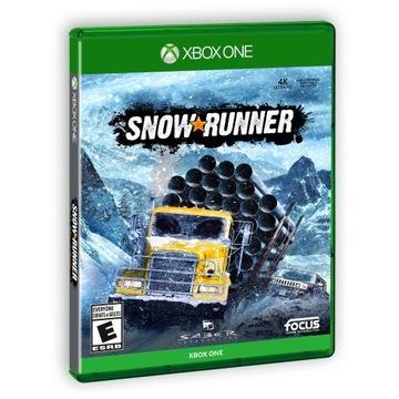 Snow Runner NOWA FOLIA XBOX ONE