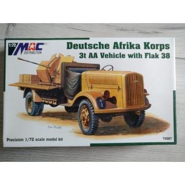 3t AA Vehicle + Flak 38 Mac Distribution 72067