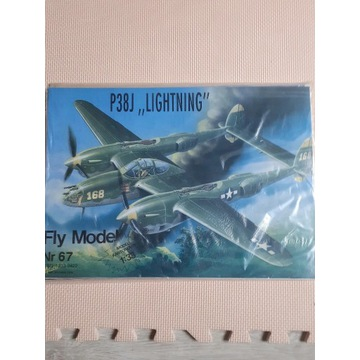 "Fly Model Lockheed P-38 J ""Lightning""+ oszklenie"
