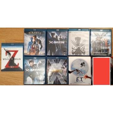 Zestaw 8 filmów na blu-ray