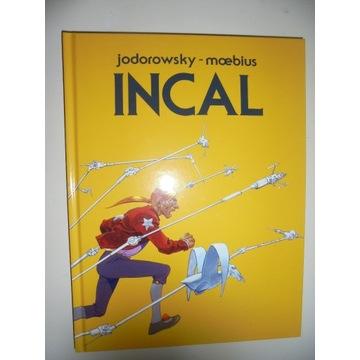 Jodorowsky - INCAL. Format 24x32. Unikat!