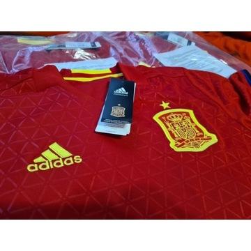 Koszulka Adidas Hiszpania meczowa nowa oryginal
