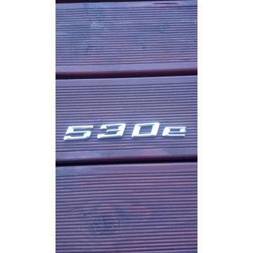 Emblemat znaczek klapa tył Bmw 530e g30 2020r