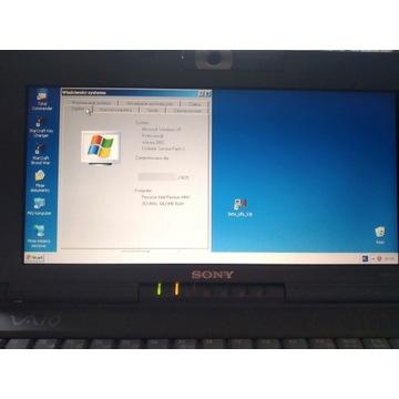 SubNotebook Sony Vaio PCG C1F - UNIKAT (1998 ROK!)