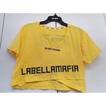 Koszulka bawełniana LABELLAMAFIA r.M 1/3 ceny