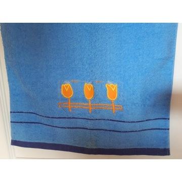 2 bawełniane ręczniki wyszywane