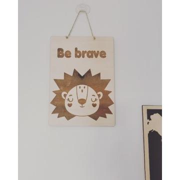 Drewniane obrazki do pokoju dziecięcego