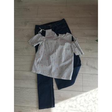 Duży zestaw damskich ubrań, rozmiar L