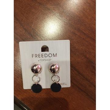 Kolczyki Freedom at TopShop
