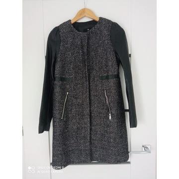Płaszcz jesienno-zimowy H&M  M stan bdb