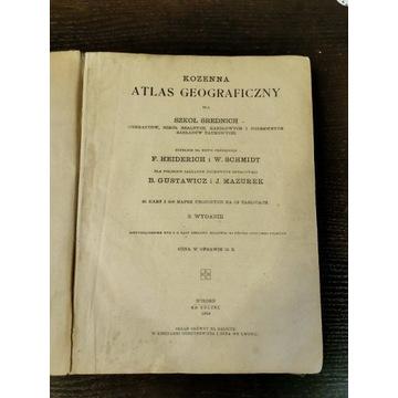 Atlas Geograficzny KOZENNA 1919