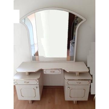 Toaletka duże lustro
