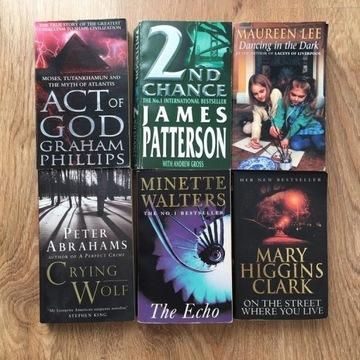 6 książek anglojęzycznych - zestaw