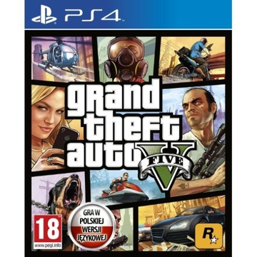 GTA 5 GRAND THEFT AUTO V PS4 PL PLAYSTATION 4