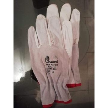 Rękawice monterskie skóra licowa
