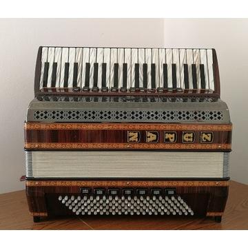 Akordeon kanałowy Zupan Harmonika Alpe V EA 120 B
