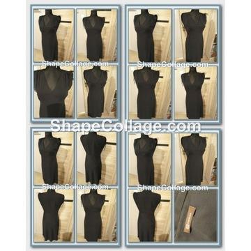 Zestaw  5 sztuk  wizytowych  sukienek____rozm.40