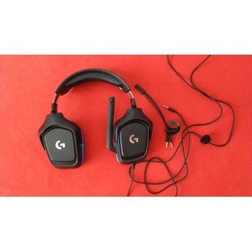 Słuchawki z mikrofonem Logitech 7.1 GAMING