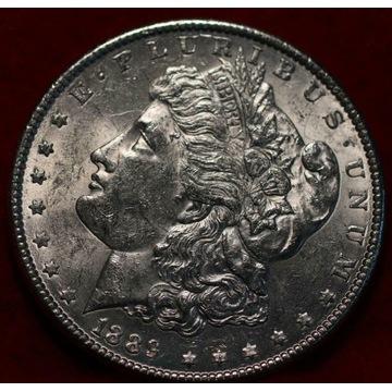 1 dolar USA - Morgan Dollar 1889 - stan menniczy