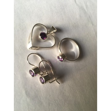 Biżuteria - srebro próba 925   - komplet