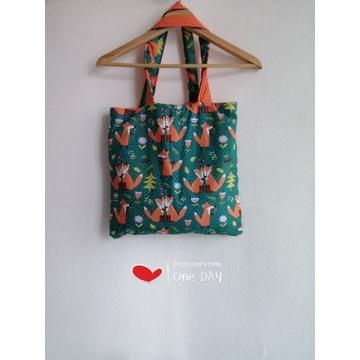 Ekskluzywna i Ekologiczna bawełniana torba