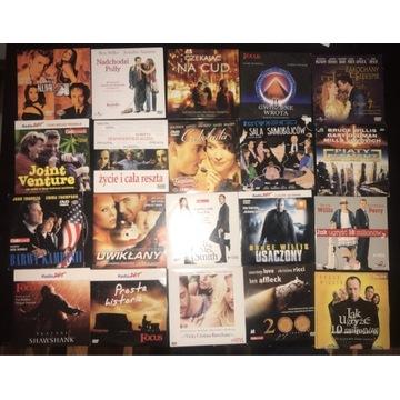 Zestaw filmów DVD od 1zl za 46 filmów pakiet